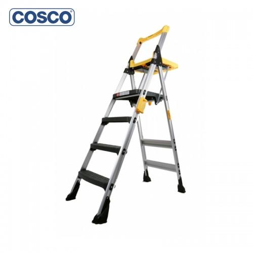 4 Step (Yellow) Folding Ladder (Model No: 11004 AGYIF)