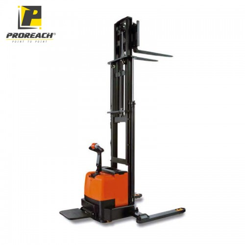 Electric Straddle Leg Stacker