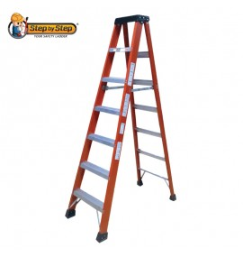 Fiberglass Single Sided A Shape Ladder