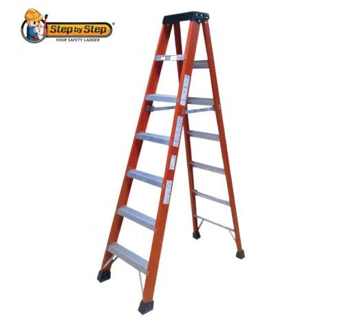 Fiberglass Single Sided A Shape Ladder