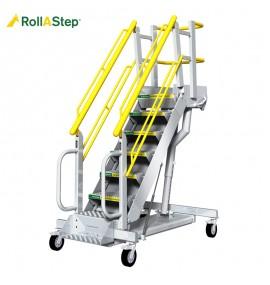G Series Mobile Self Leveling Stair Work Platform