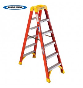 Fiberglass Twin Stepladder T6200 Series
