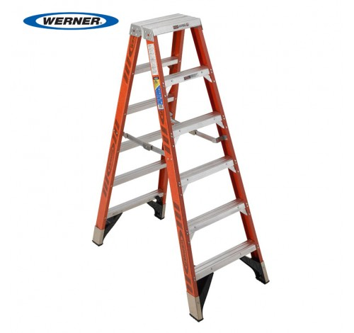 Fiberglass Twin Stepladder T7400 Series